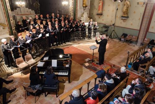 Concert du Choeur de l'Aude à Alairac, 18 mai 2019