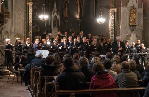 Choeur de l'Aude, église d'Alairac, 18 mai 2019