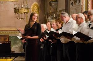 Concert du Choeur de l'Aude à Lagrasse, 20 mai 2017