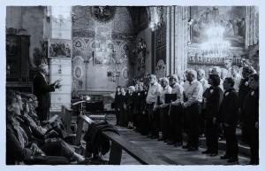 Concert du Choeur de l'Aude à Lagrasse